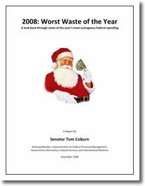 2008: The Worst Waste of the Year Report